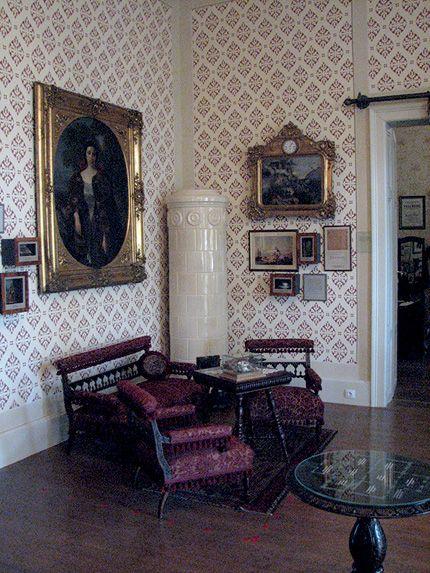 Jókai Villa, Balatonfüred, Hungary.