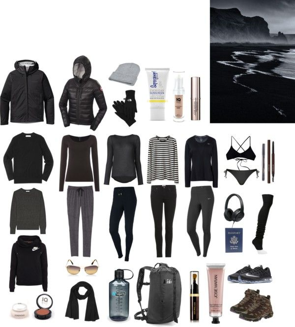 PACKING // ICELAND // SUMMER #packing #iceland #summer
