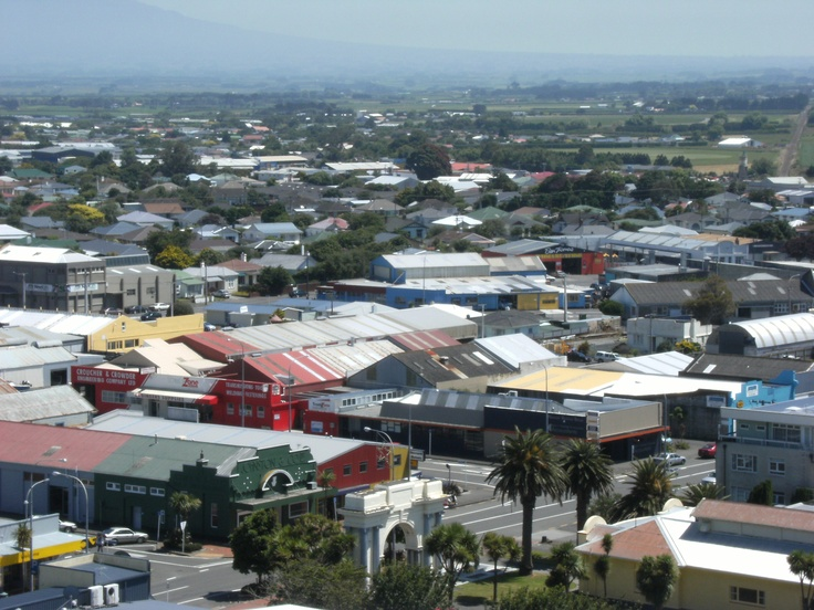 Hawera from Top of Water Tower.