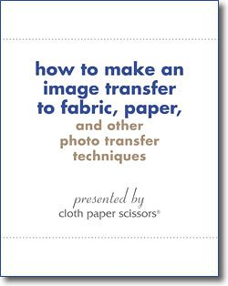 Learn how to create photo transfers using over 20 image transfer techniques, all in this handy, free eBook collection!