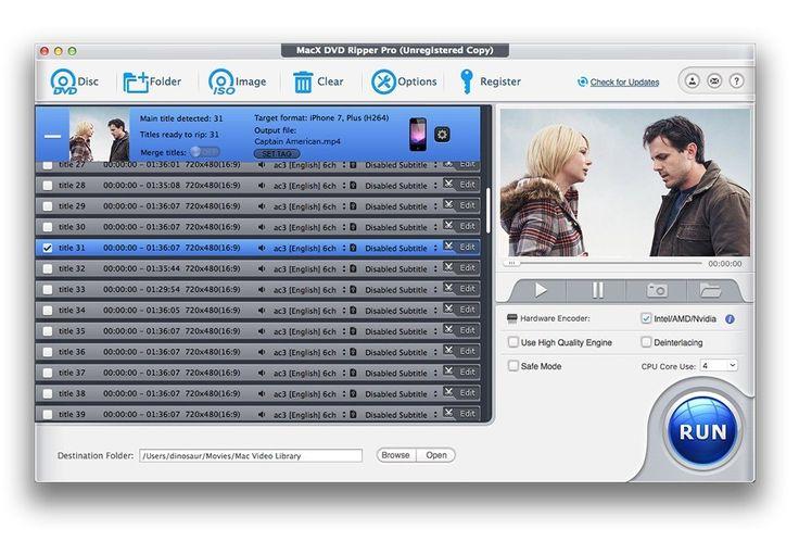 MacX DVD Ripper Pro Fastest HandBrake Alternative to Rip