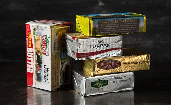 Five Brands of Butter