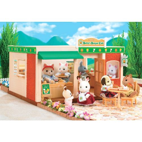 Calico Critters Hopscotch Rabbit Family. by Calico Critters.