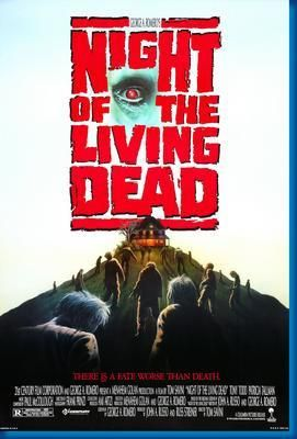 Night Of The Living Dead 1990 Movie Poster 24inx36in