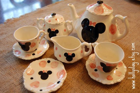 Minnie Mouse inspired Tea Party. . . Personalized by hollyslay