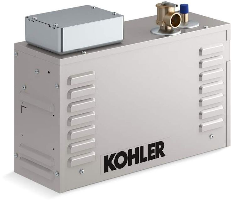 Kohler K-5531 Invigoration 11kW Steam Generator with Fast-Response Constant Ste Steam Showers Steam Generators Residential