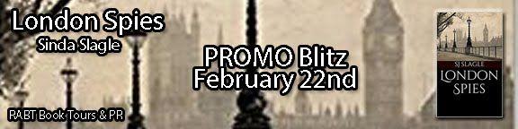 Romance Writer and Lover of Books...Vikki Vaught: Promo Blitz: London Spies by SJ Slagle