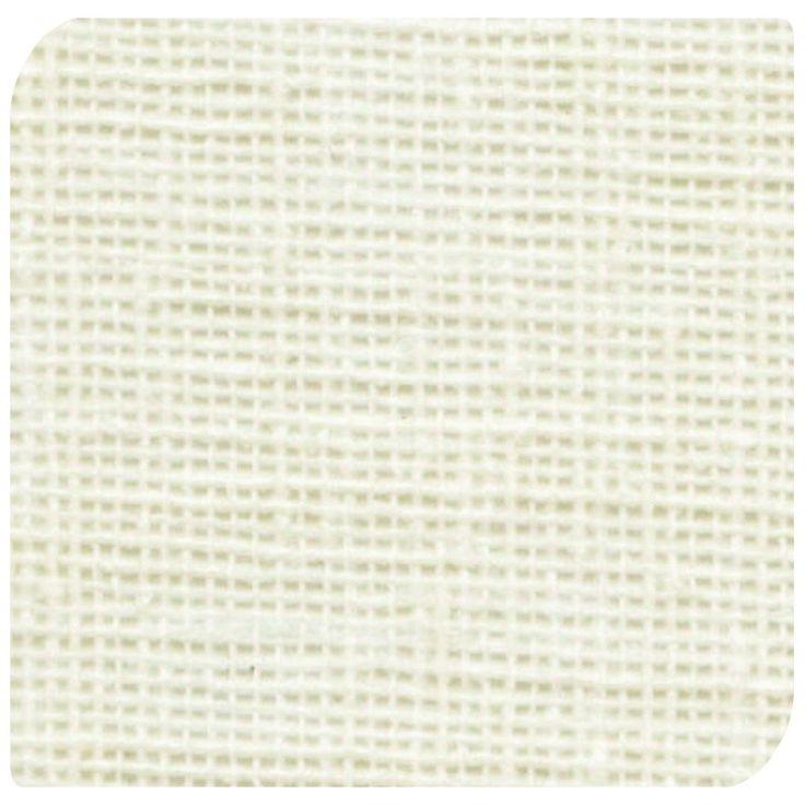 Open Linen Cream Roller Blind