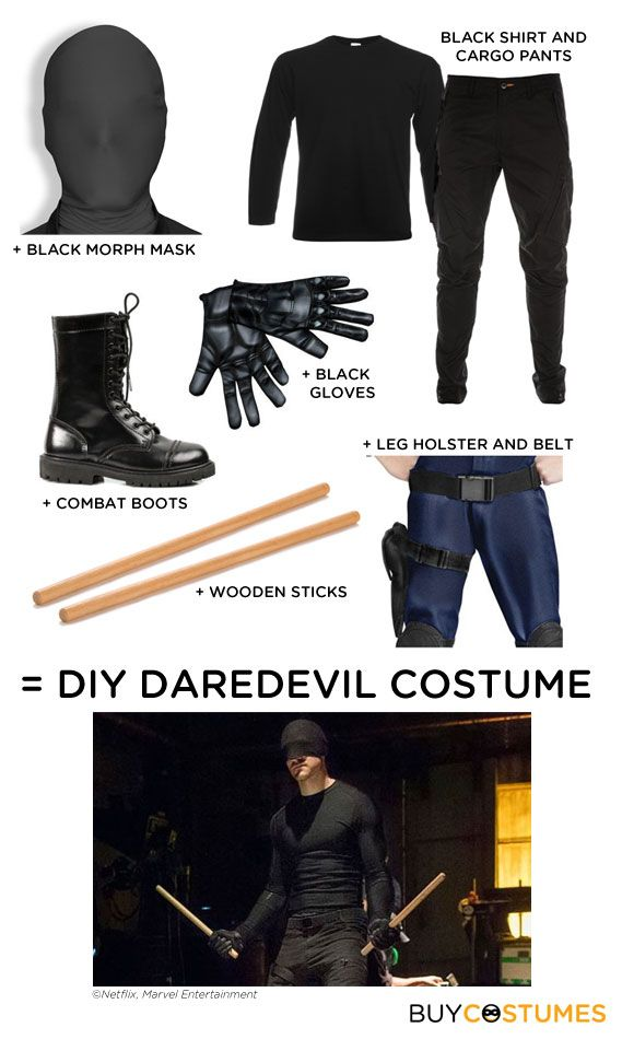 Quick Tip: Netflix's Daredevil - Halloween Costume Ideas