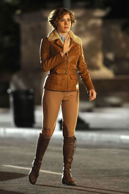 i like the jacket and the boots.