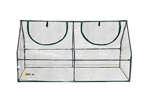 Ogrow Ultra Deluxe Compact Outdoor Seed Starter Greenhouse Cloche, 2015 Amazon Top Rated Greenhouses #Sports