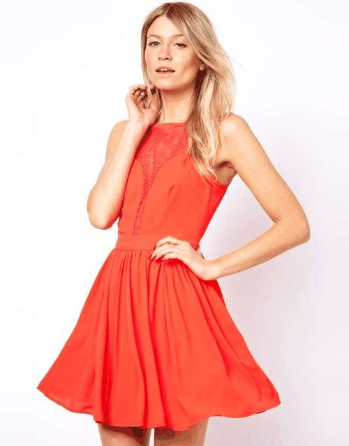 Love the Oasis Lace Panel Dress on Wantering | Orange Crush | womens lace dress #womensdress #womensstyle #womensfashion #style #fashion #GIF #gif #gifs #fashiongifs #oasis #wantering http://www.wantering.com/womens-clothing-item/oasis-lace-panel-dress/acDg2/