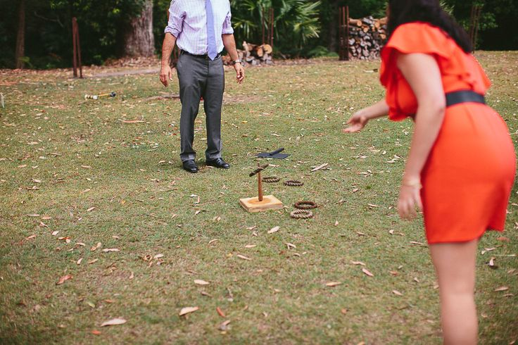 """Tracy and Andrew - Our beautiful wedding at """"Lilyvale"""" Royal National Park, NSW, Australia - 9 Nov 2013 Yard games"""