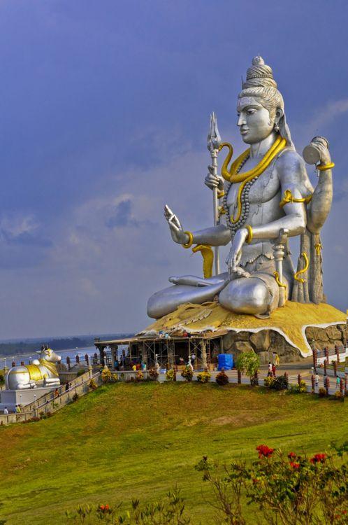 Shiva in deep peaceful funk, Goa | India