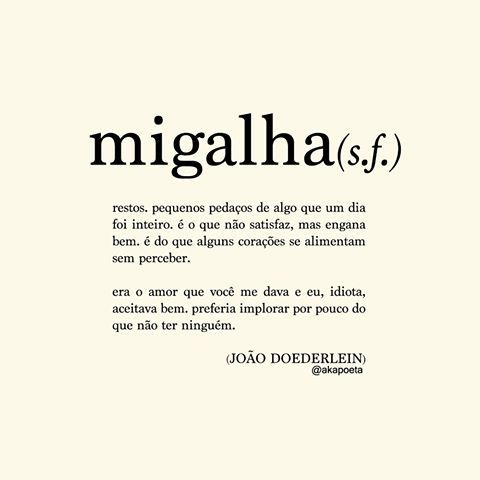 JOÃO DOEDERLEIN (@akapoeta) | Instagram photos and videos
