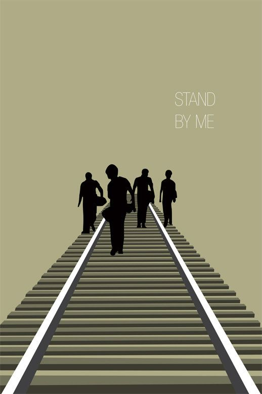 Stand By Me - 1987 - minimal movie poster
