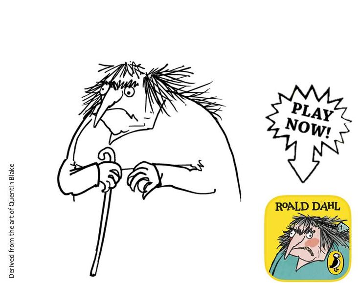 roald dahl the twits free colouring pages