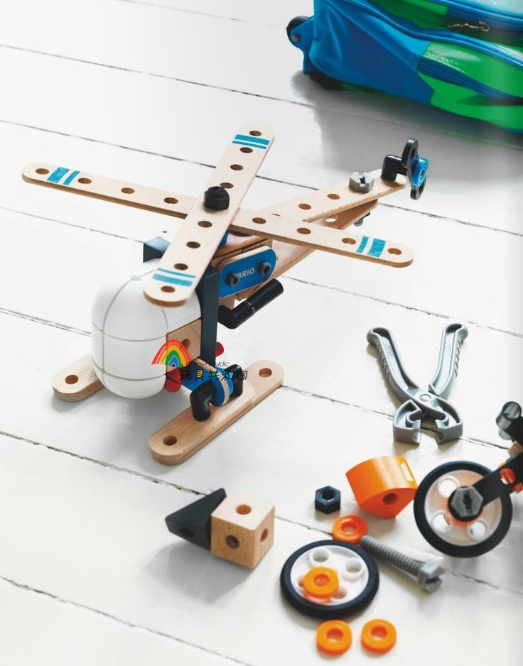 Kid's Soft Wooden Helicopter Set DIY Assembly With Nut Educational Toy-in Diecasts & Toy Vehicles from Toys & Hobbies on Aliexpress.com | Alibaba Group
