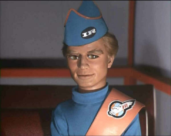 Pilot of Thunderbird 4; Gordon Tracy. - even though it's a show that's made with puppets, it had some terrific lighting and composition.