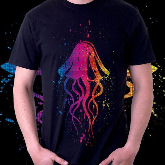 Colorful Jellyfish dari Tees.co.id oleh Heaven