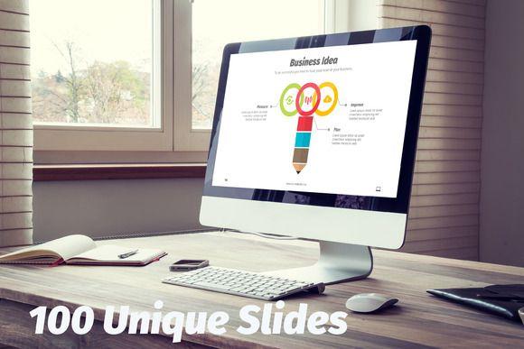 Accolade Power Point Template by DesignCorner on Creative Market