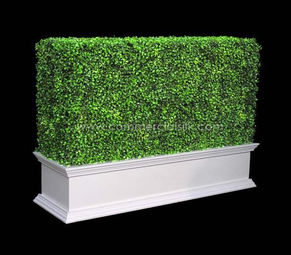 Outdoor Artificial Topiary Boxwood Hedge 36 Secret