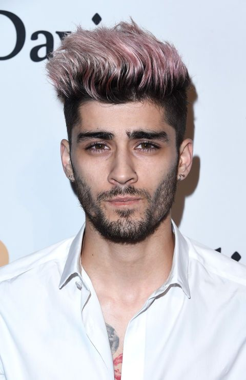 Zayn Malik with pink hair? We're in.