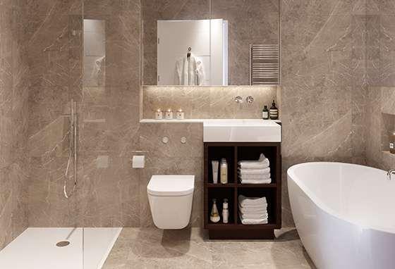 One tile, simplistic