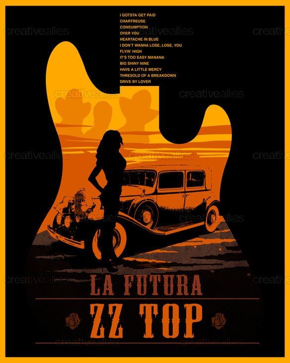 ZZ Top Album cover..