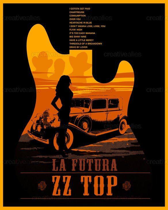 ZZ Top Album cover..