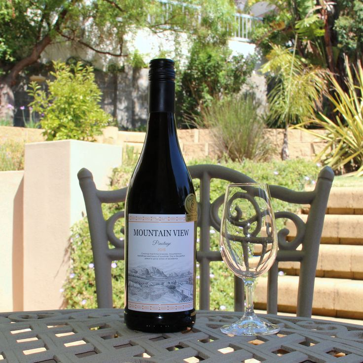 L'Avenir Mountain View Pinotage 2015  Farm: L'avenir Estate Made for France - South African Pinotage. Now that's a vinous adventure if ever there was one.