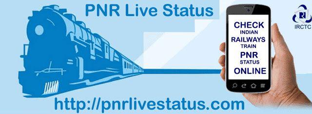 Check indian railways train PNR status online - PNR Status