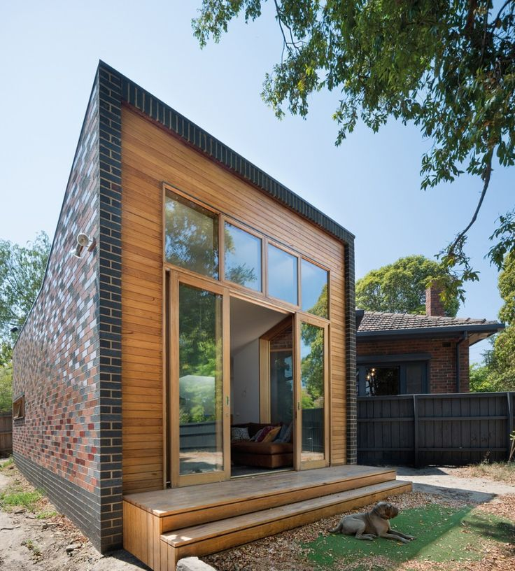 Forever House  / WoodWoodWard Architecture #brick #wood