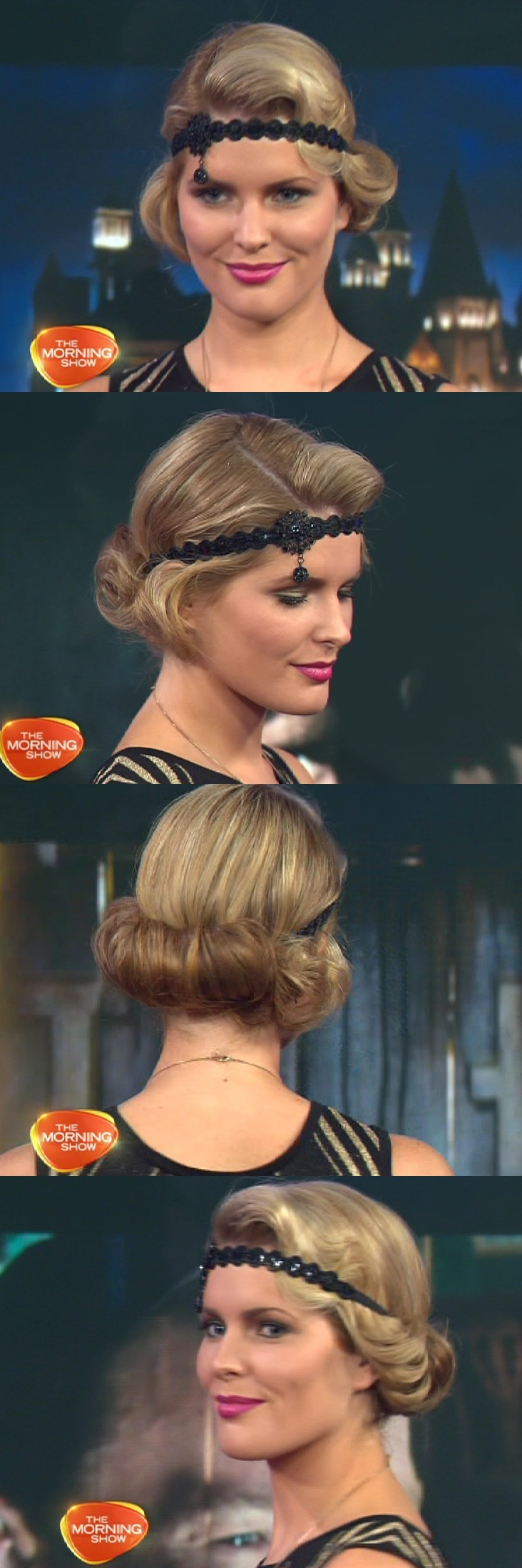 20's Hairstyle with a headband and fingerwave -- Tia is this what you were thinking?