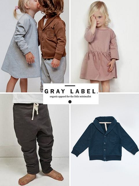 Grey Label | Amsterdam label that makes quality basics from organic fabrics for little ones