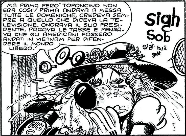 ITALIAN COMICS - La contestazione di Topolino reduce dal Vietnam 4