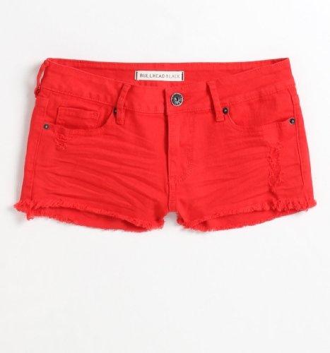 Bullhead Black Womens Fray Solid Shorts $36.50 · Pantalones Cortos ...