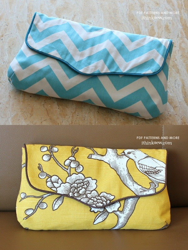 Nancy Clutch PDF Pattern