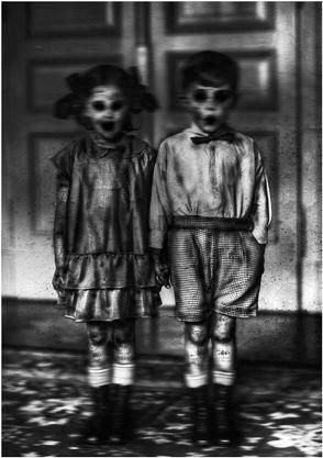 Come play with us... #Creepychildren #scary #kids