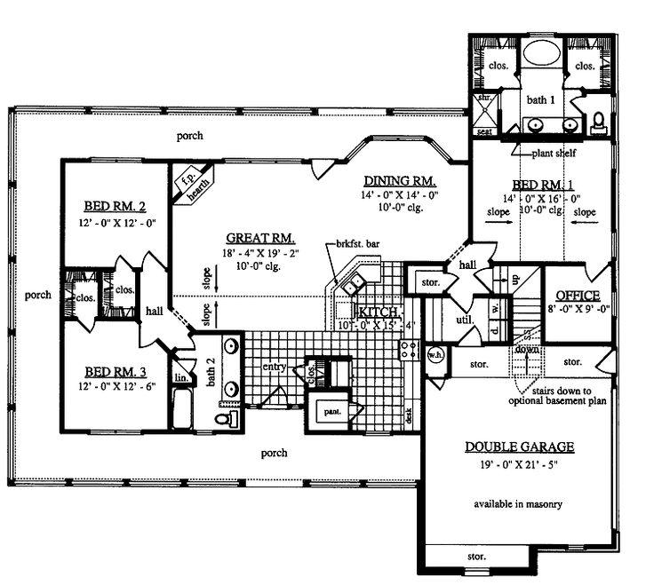 8 best pretty house plans images on pinterest | dream home plans