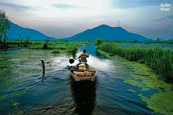 Awesome view of beautiful Jammu Kashmir India