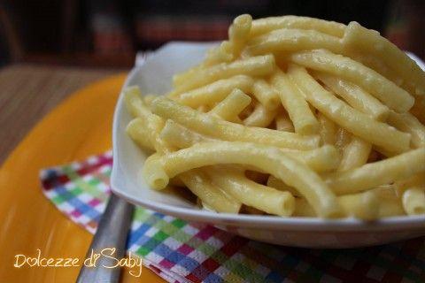 Maccheroni al formaggio (Mac & cheese) senza cottura in forno