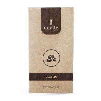 Classic in capsule per macchine da caffè. Macinato Fino. 100% Arabica.  Caffè dal gusto intenso e affascinante. Le comode capsule, compatibili con il sistema Nespresso, consentono di preparare un intenso ristretto, un aromatico espresso e un caffè lungo, ideale per deliziarsi a lungo con il gusto e l'aroma del #caffè.  Confezione da 10 capsule.  #FMGroup #FMGroupItalia #Aurile #capsule
