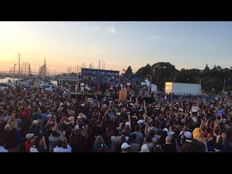 Full Speech: Bernie Sanders Rally in Vallejo, California (5-18-16) Valle...