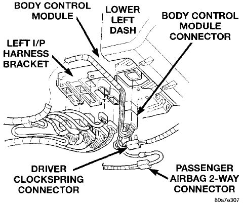 Dodge Caliber Belt Tensioner Location also T11347119 Firing order 2006 dodge grand caravan likewise 2012 Jeep Patriot Engine Diagram together with 2007 Chevrolet Equinox Engine  partment Fuse Block And Relay moreover Truck To Trailer Wiring Diagram. on 2005 dodge grand caravan fuse layout