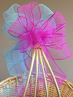 17 best ideas about mesh ribbon on pinterest deco