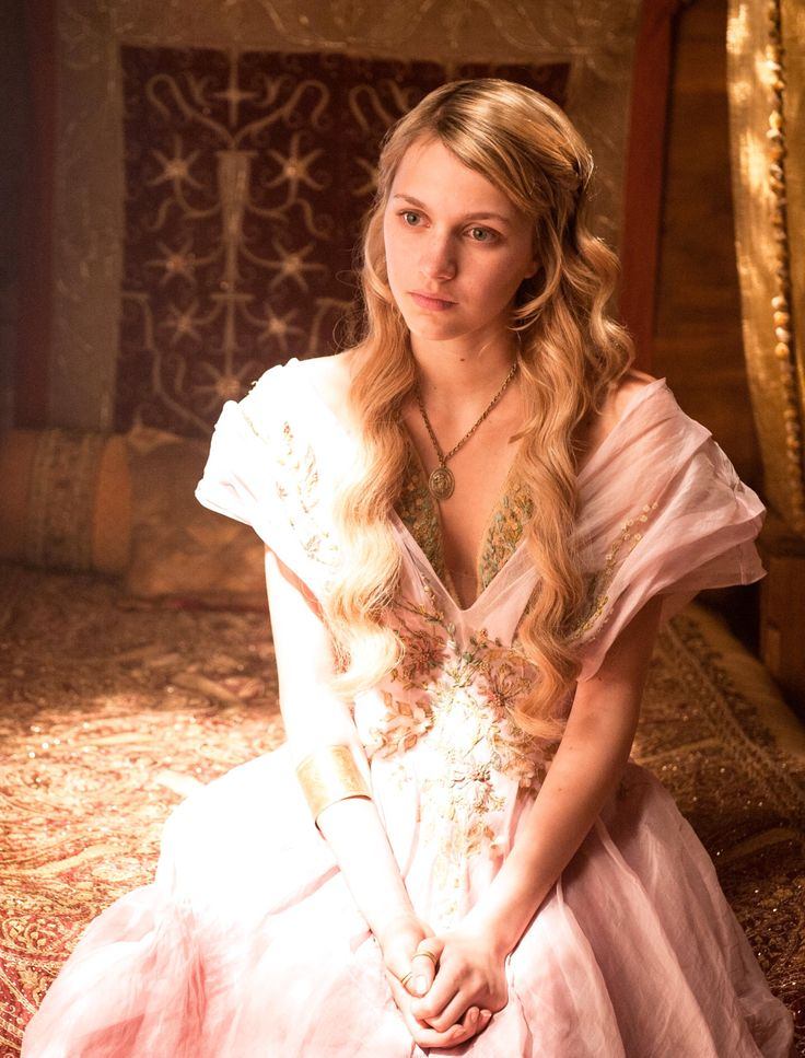 """""""Game of Thrones"""" (Myrcella Baratheon played by Nell Tiger Free)"""