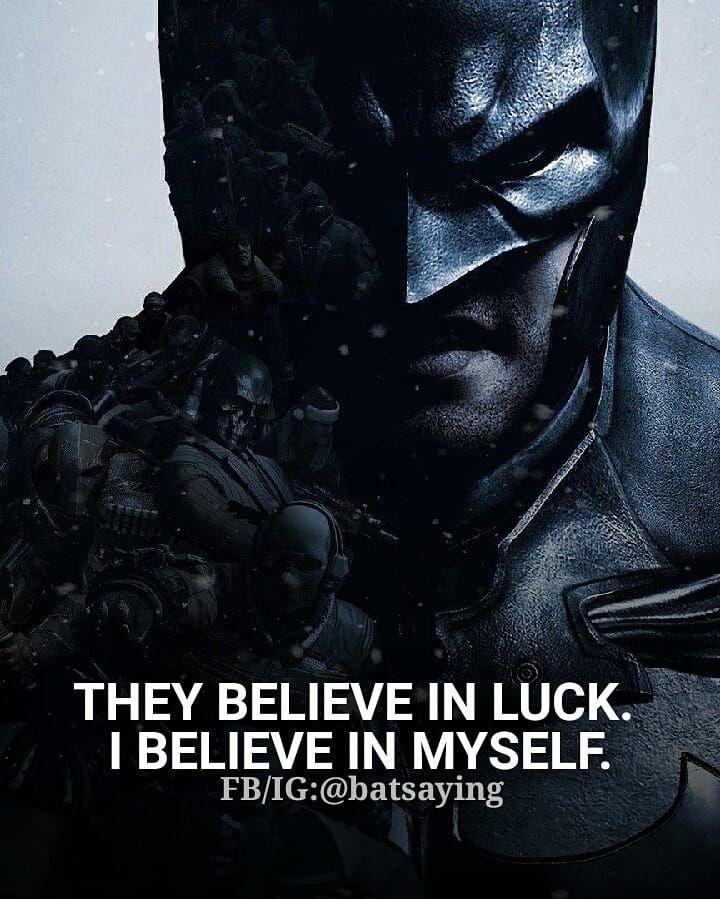 Batman Quote Batman Quote Batman Quotes Believe