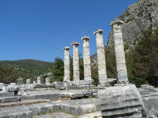 Ruins of Priene, Aegean Sea Region, Turkey