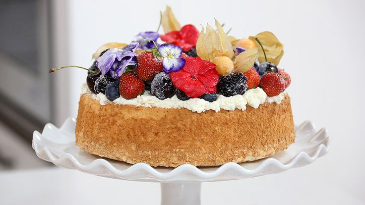 Anna Olson's picture perfect angel food cake